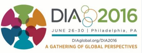 Sharon Bathory Attending DIA 2016 52nd Annual Meeting