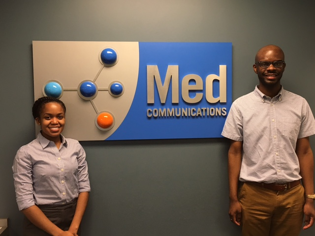 Welcome to our new Fellows Melanie Shelton and Randall Johnson