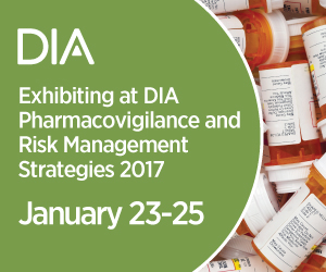 The DIA Pharmacovigilance and Risk Management Strategies Conference 2017