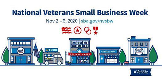 National Veterans Small Business Week, Nov. 2-6, 2020