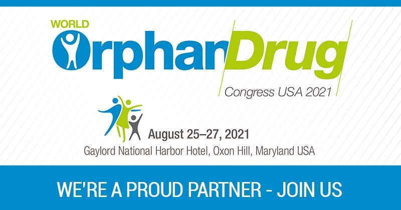 Join us at the 2021 World Orphan Drug Congress