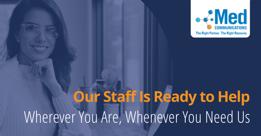 Med Communications offers a seamless remote workforce experience