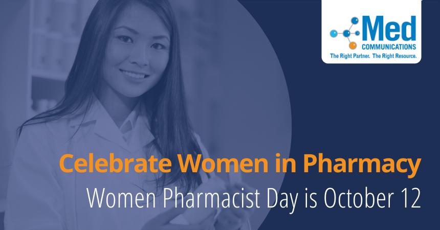 Join us in honoring women in pharmacy on October 12